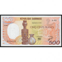 Gabon - Pick 8 - 500 francs - 1985 - Etat : NEUF