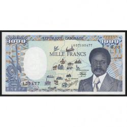 Gabon - Pick 10a_1 - 1'000 francs - 1986 - Etat : NEUF