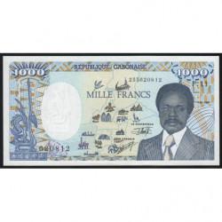 Gabon - Pick 10b - 1'000 francs - 1991 - Etat : pr.NEUF