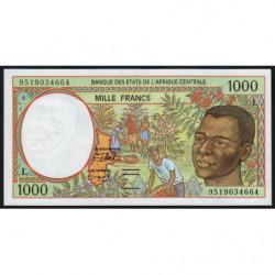 Gabon - Afr. Centrale - Pick 402Lc - 1'000 francs - 1995 - Etat : NEUF