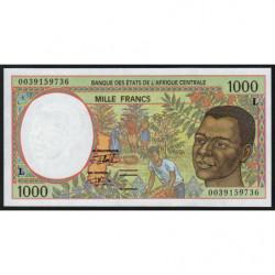 Gabon - Afr. Centrale - Pick 402Lg - 1'000 francs - 2000 - Etat : NEUF