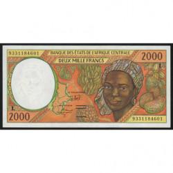 Gabon - Afr. Centrale - Pick 403La - 2'000 francs - 1993 - Etat : SUP+