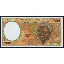 Gabon - Afr. Centrale - Pick 403Lg - 2'000 francs - 2000 - Etat : NEUF