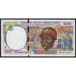 Gabon - Afr. Centrale - Pick 404Lf - 5'000 francs - 2000 - Etat : NEUF