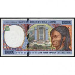 Gabon - Afr. Centrale - Pick 405La - 10'000 francs - 1994 - Etat : SUP
