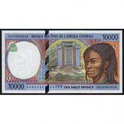 Gabon - Afr. Centrale - Pick 405Lf - 10'000 francs - 2000 - Etat : NEUF