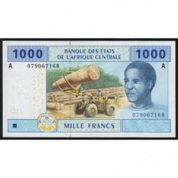 Gabon - Afr. Centrale - Pick 407Aa - 1'000 francs - 2002 - Etat : NEUF