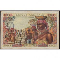 Gabon - Afrique Equatoriale - Pick 5h - 1'000 francs - 1963 - Etat : TTB-