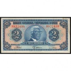 Haïti - Pick 201 - 2 gourdes - 1971 - Etat : TB+