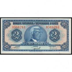 Haïti - Pick 211 - 2 gourdes - 1973 - Etat : NEUF