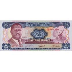 Haïti - Pick 218 - 25 gourdes - 1973 - Etat : NEUF