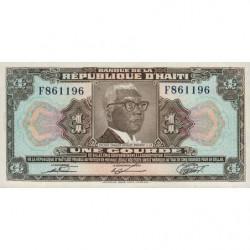 Haïti - Pick 230 - 1 gourde - 1979 - Etat : NEUF