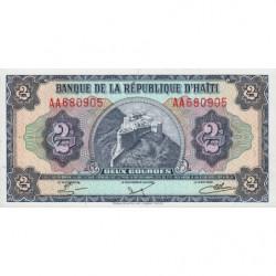Haïti - Pick 240 - 2 gourdes - 1984 - Etat : NEUF