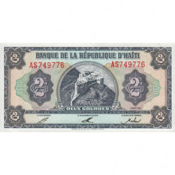 Haïti - Pick 260 - 2 gourdes - 1992 - Etat : NEUF