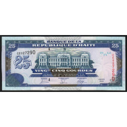 Haïti - Pick 266c - 25 gourdes - 2006 - Etat : NEUF