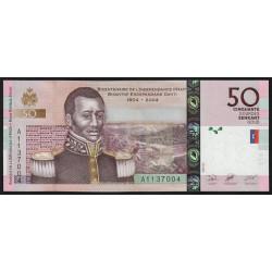 Haïti - Pick 274a - 50 gourdes - 2004 - Commémoratif - Etat : NEUF