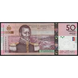 Haïti - Pick 274f - 50 gourdes - 2016 - Commémoratif - Etat : NEUF