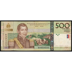 Haïti - Pick 277b - 500 gourdes - 2007 - Commémoratif - Etat : TTB