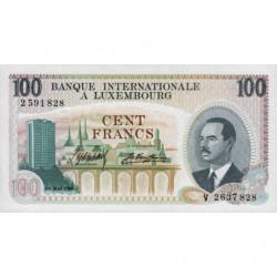 Luxembourg - Pick 14 - 100 francs - 01/05/1968 - Etat : NEUF