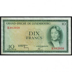 Luxembourg - Pick 48a_3 - 10 francs - 1959 - Etat : SUP