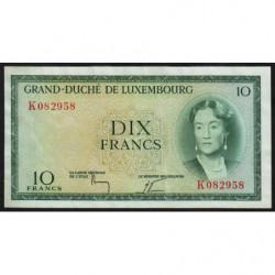 Luxembourg - Pick 48a_3 - 10 francs - 1964 - Etat : SUP