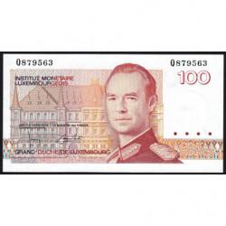 Luxembourg - Pick 58b - 100 francs - 1993 - Etat : NEUF