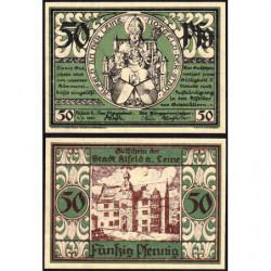 Allemagne - Notgeld - Alfed - 50 pfennig - 01/07/1921 - Etat : NEUF