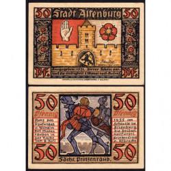 Allemagne - Notgeld - Altenburg - 50 pfennig - 1921 - Etat : SPL