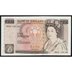 Grande-Bretagne - Pick 379e - 10 pounds - 1988 - Etat : SPL