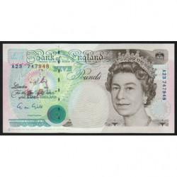 Grande-Bretagne - Pick 382a - 5 pounds - 1990 - Etat : NEUF