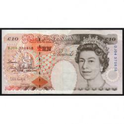 Grande-Bretagne - Pick 386a - 10 pounds - 1993 - Etat : TTB