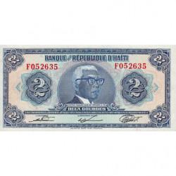 Haïti - Pick 231 - 2 gourdes - 1979 - Etat : NEUF