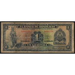 Honduras - Pick 34 - 1 lempira - Série A - 11/02/1932 - Etat : B