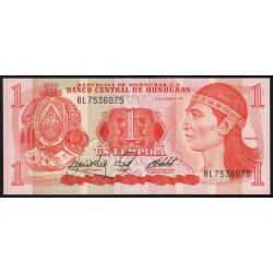 Honduras - Pick 68b - 1 lempira - 18/10/1984 - Etat : NEUF
