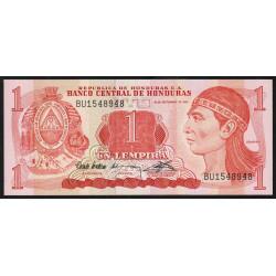 Honduras - Pick 71 - 1 lempira - 10/09/1992 - Etat : NEUF