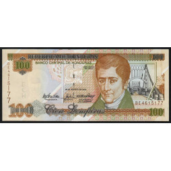 Honduras - Pick 77g - 100 lempiras - 28/08/2004 - Etat : NEUF