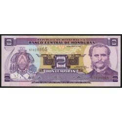 Honduras - Pick 80Ad - 2 lempiras - 23/01/2003 - Etat : NEUF