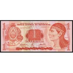 Honduras - Pick 84a - 1 lempira - 14/12/2000 - Etat : NEUF