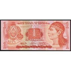 Honduras - Pick 84d - 1 lempira - 26/08/2004 - Etat : NEUF
