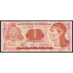 Honduras - Pick 89a - 1 lempira - 14/04/2008 - Etat : NEUF