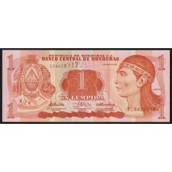 Honduras - Pick 89b - 1 lempira - 06/05/2010 - Etat : NEUF