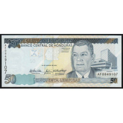 Honduras - Pick 94a - 50 lempiras - 26/08/2004 - Etat : NEUF