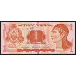 Honduras - Pick 96b - 1 lempira - 12/06/2014 - Etat : NEUF