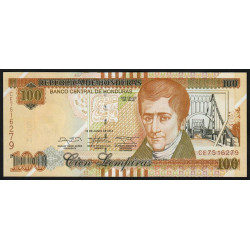 Honduras - Pick 102b - 100 lempiras - 12/06/2014 - Etat : NEUF