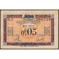 Allemagne - R.C.F.T.O. - Pirot 135-1 - Série B.3 - 5 centimes - 1923 - Etat : TTB+