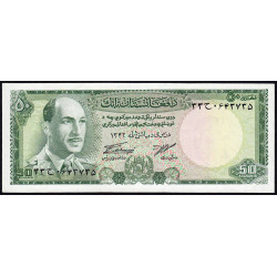 Afghanistan - Pick 43 - 50 afghanis - 1967 - Etat : NEUF
