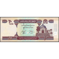 Afghanistan - Pick 68a - 20 afghanis - 2002 - Etat : NEUF