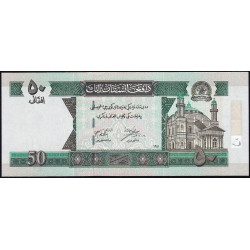 Afghanistan - Pick 69a - 50 afghanis - 2002 - Etat : NEUF