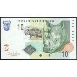 Afrique du Sud - Pick 128b - 10 rand - 2009 - Etat : NEUF