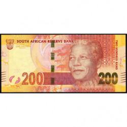 Afrique du Sud - Pick 137 - 200 rand - 2012 - Etat : TTB